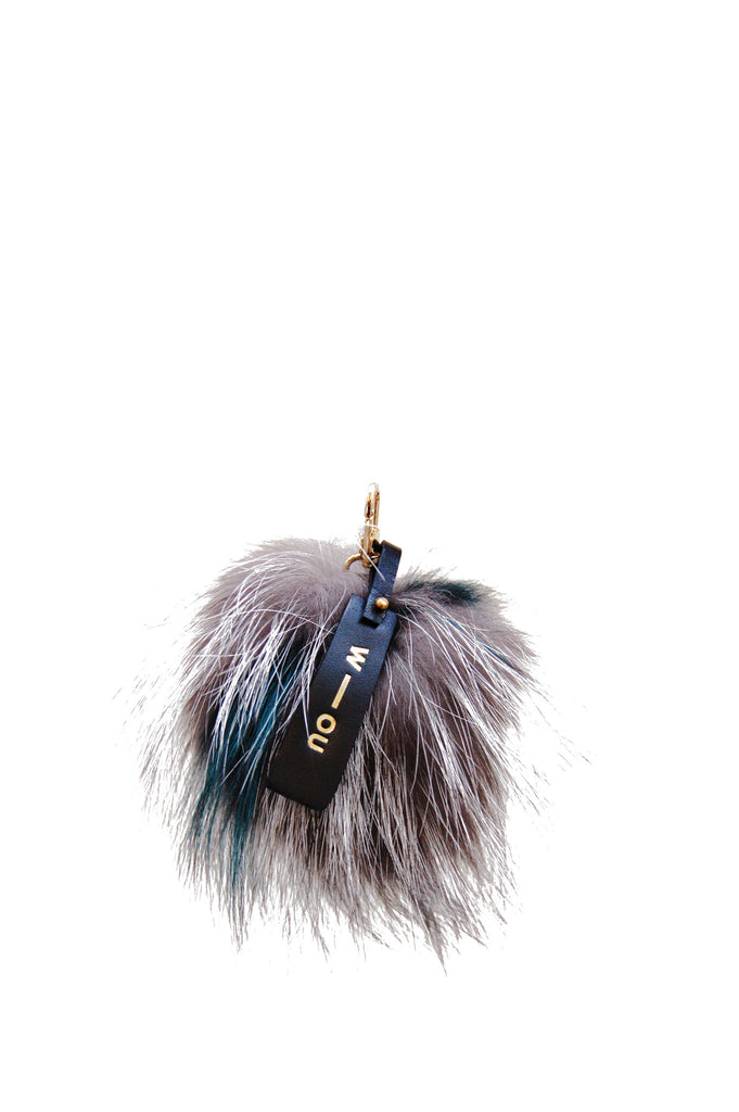 Pompom Keyring Tina Turner Mixed