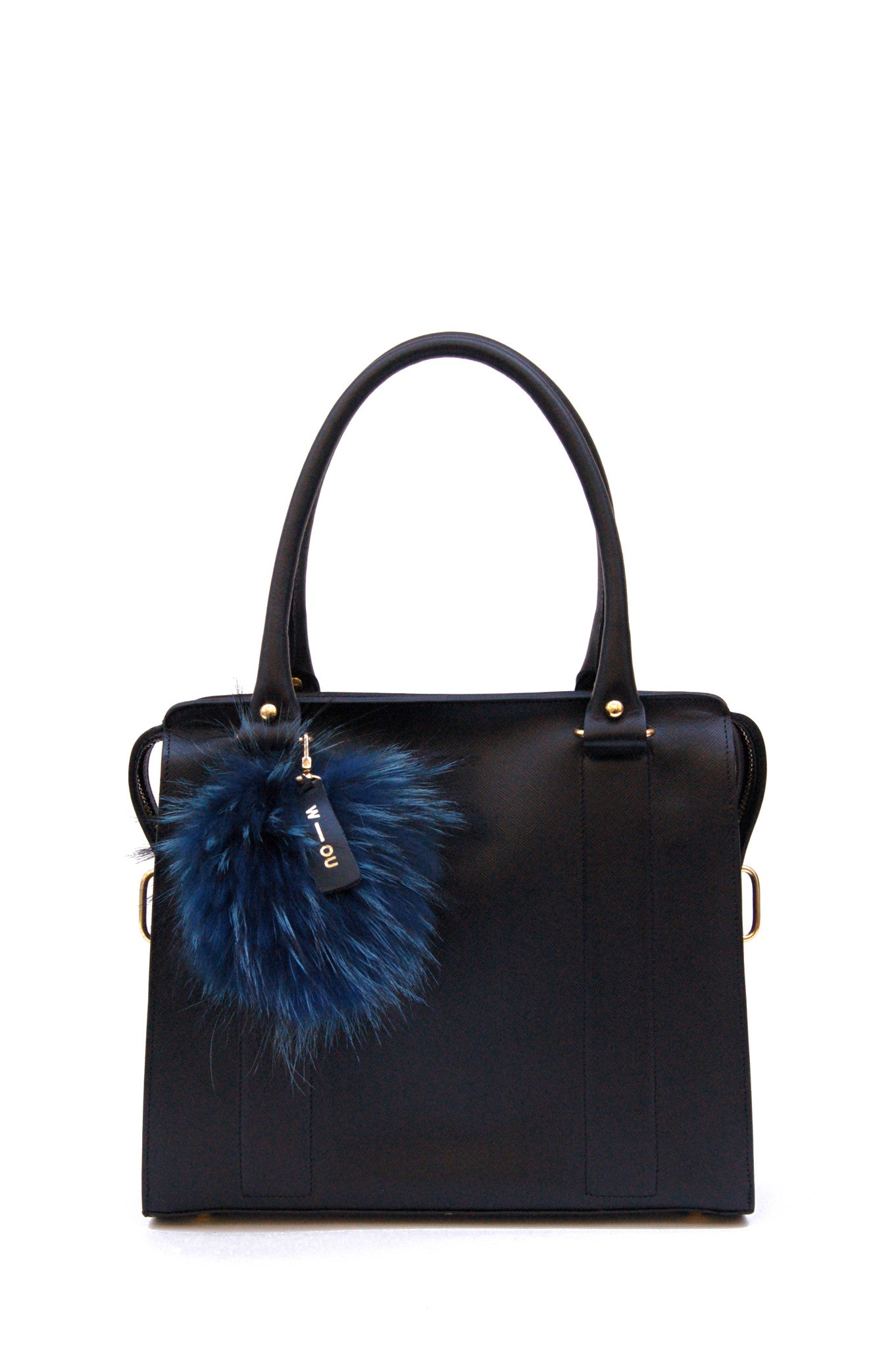 Wendee Ou: Pompom keyring tina turner blue | Accessories > Key rings,Accessories -  Hiphunters Shop