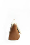 Sienna Shearling Cross-body Bag Tan & Cream
