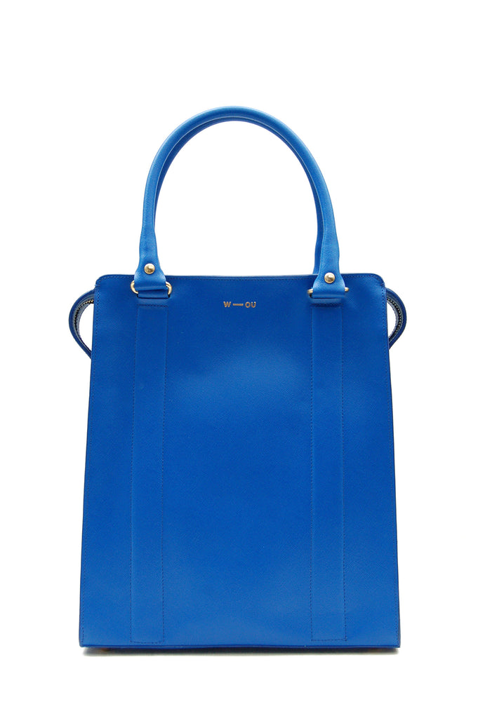 Ziggy Structured Bag Blue