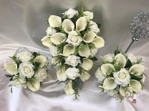 Rose & Large Calla Lily Range