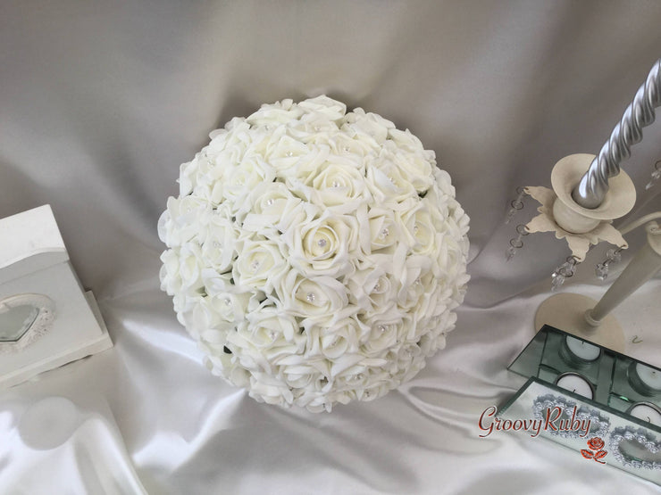 Large Bride Round Bouquet