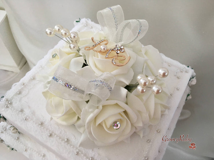 Love Brooch Cake Topper