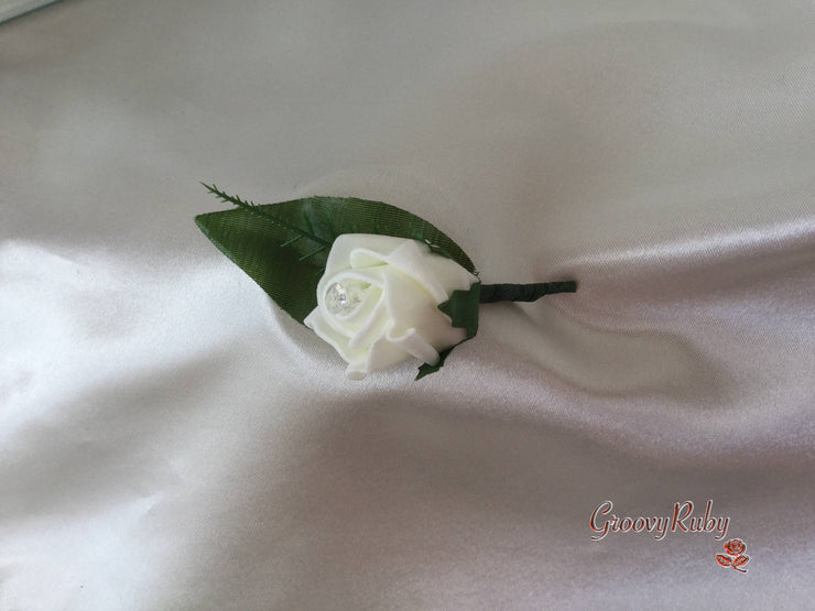 Single Rose Toddler Buttonhole