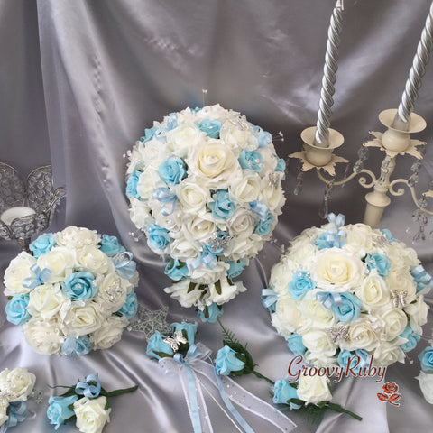Full Baby Blue Butterfly Range