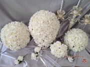 Ivory Rose Crystal Full Bouquet Range