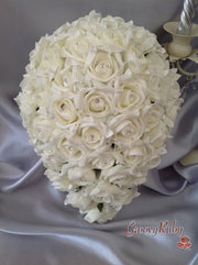 Bride Teardrop Bouquet