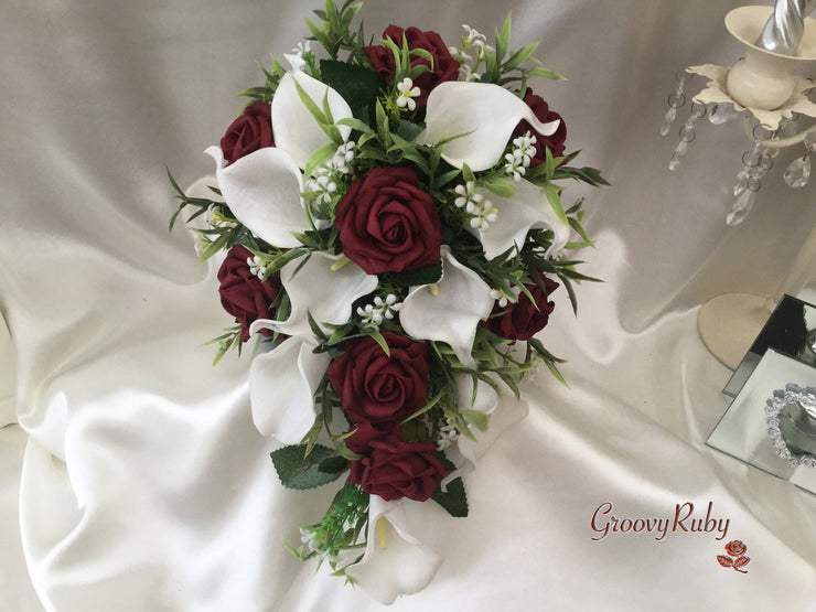 Bridesmaid Teardrop Bouquet