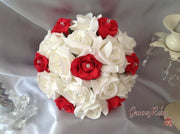 Red & Ivory Rose Crystal Range