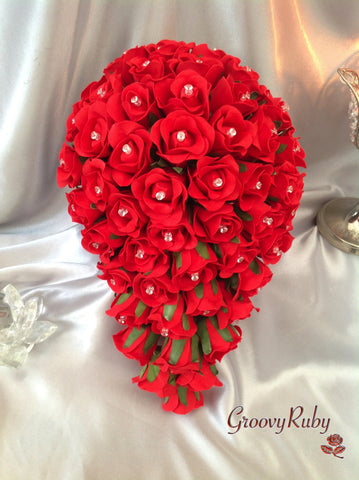 Full Red Rose Crystal