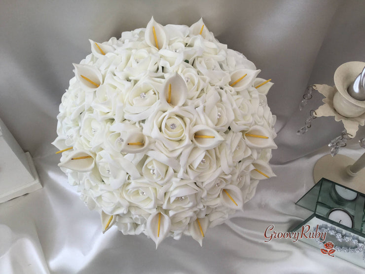 Large Round Bride Bouquet