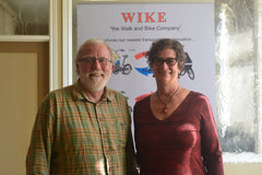 Bob Bell and Anna Shaftoe, the leading spirits in the Wike family!