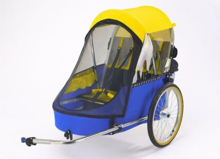 Wike Premium Double Bicycle Trailer