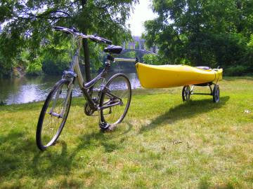 Wike Kayak Trailer