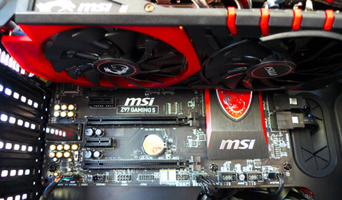 MSI Geforce GTX 980 in a Corsair Carbide 540 case