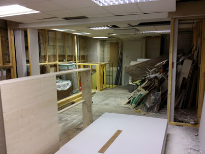 PC Solutions new shop in Perth currently under construction