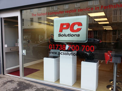 PC Solutions Perth new shop in North Street Perth