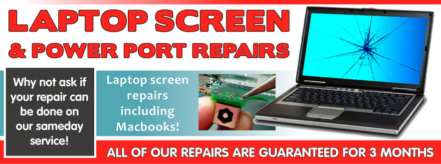 PC Soltuions - Laptop Screen and Power Point Repair