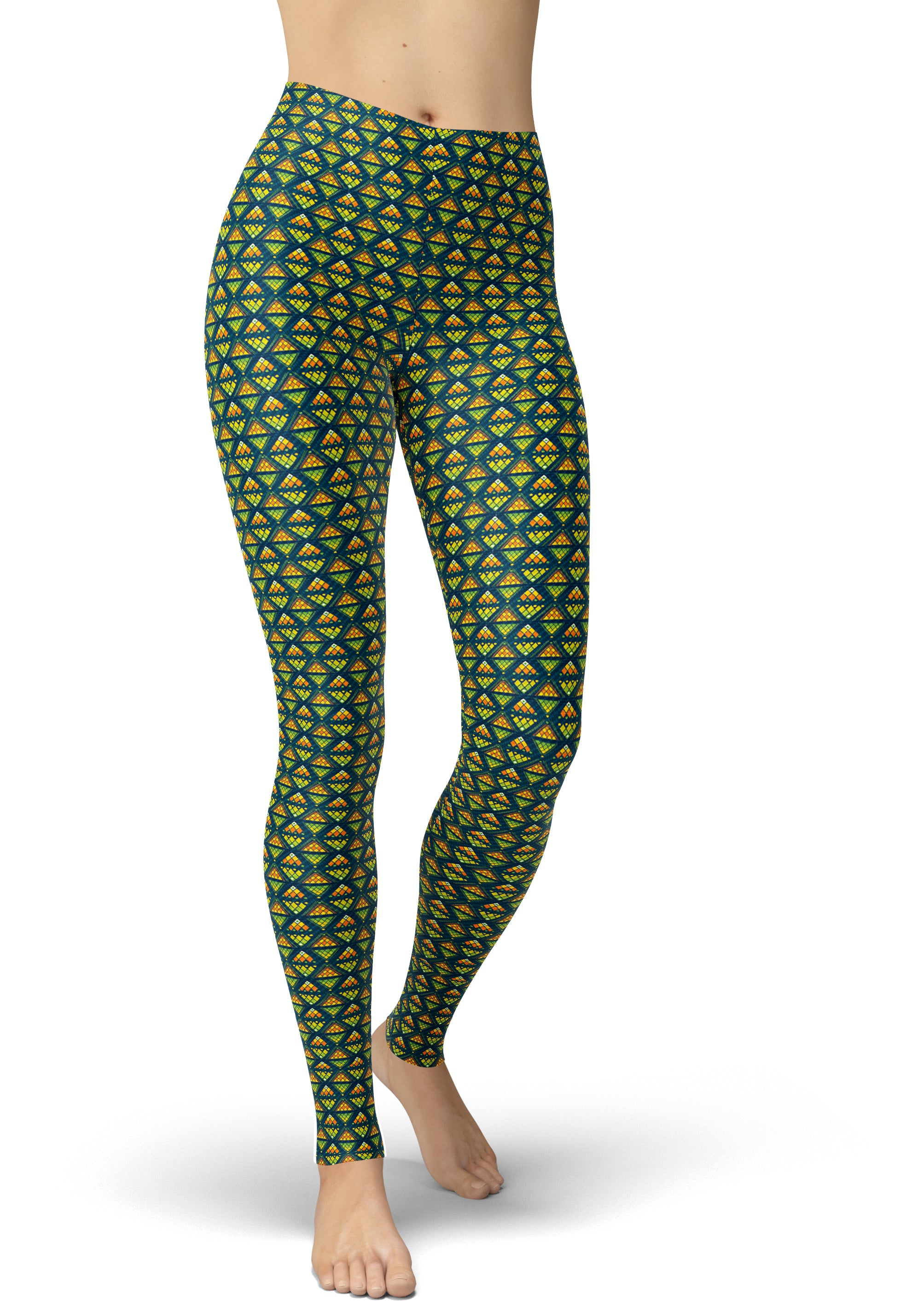 Jungle Alligator Leggings