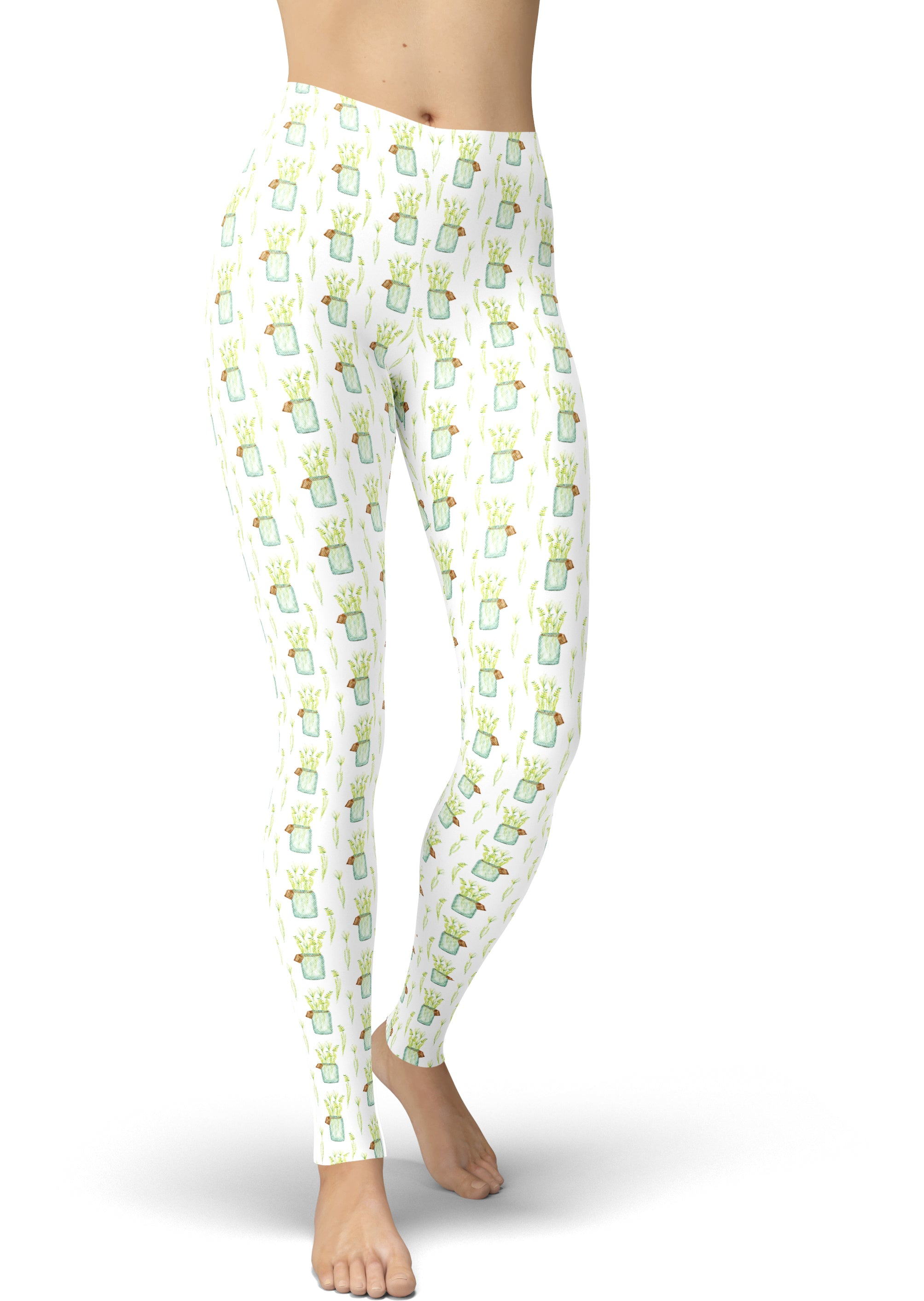 Dreaming In The Garden Leggings