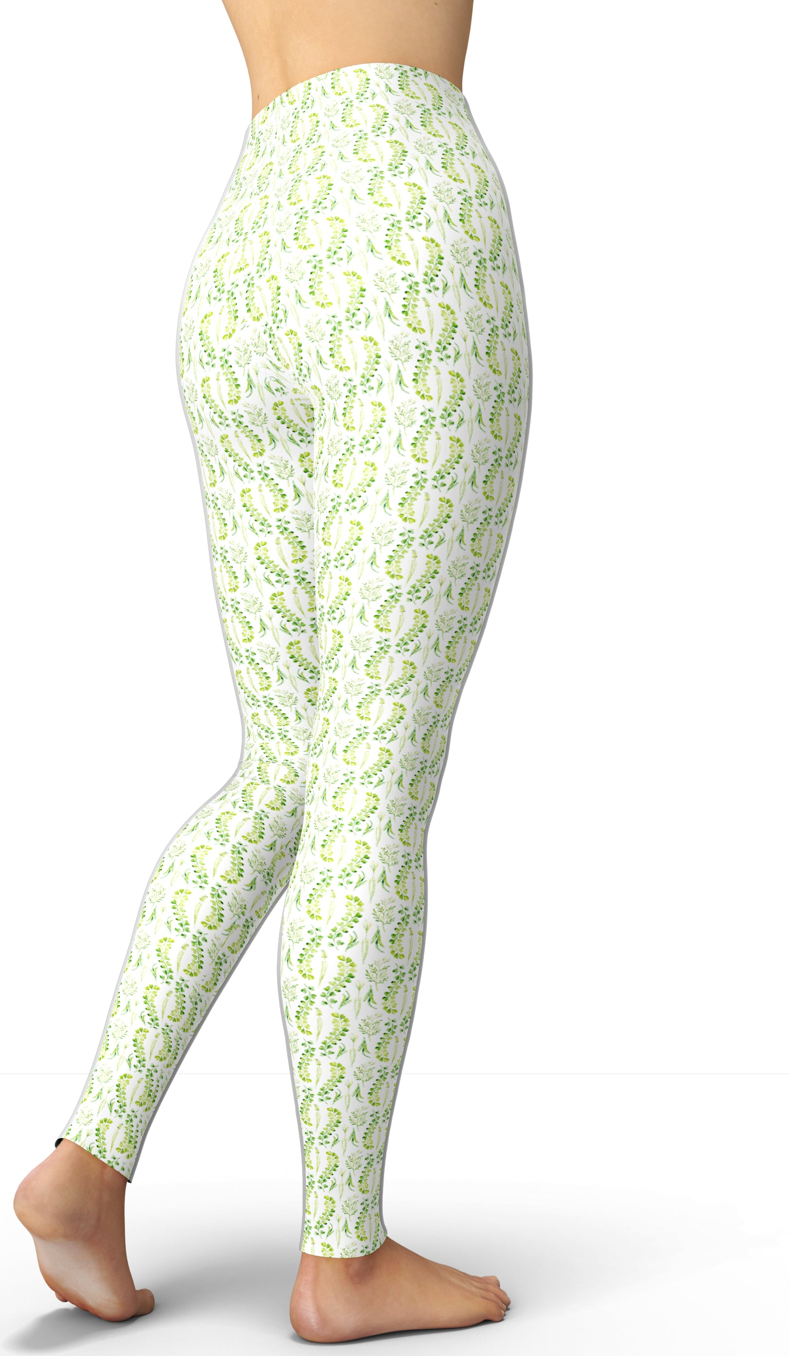 Green Thumb Goddess Leggings