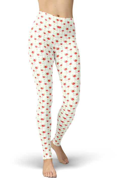 Blushing Bloom Leggings
