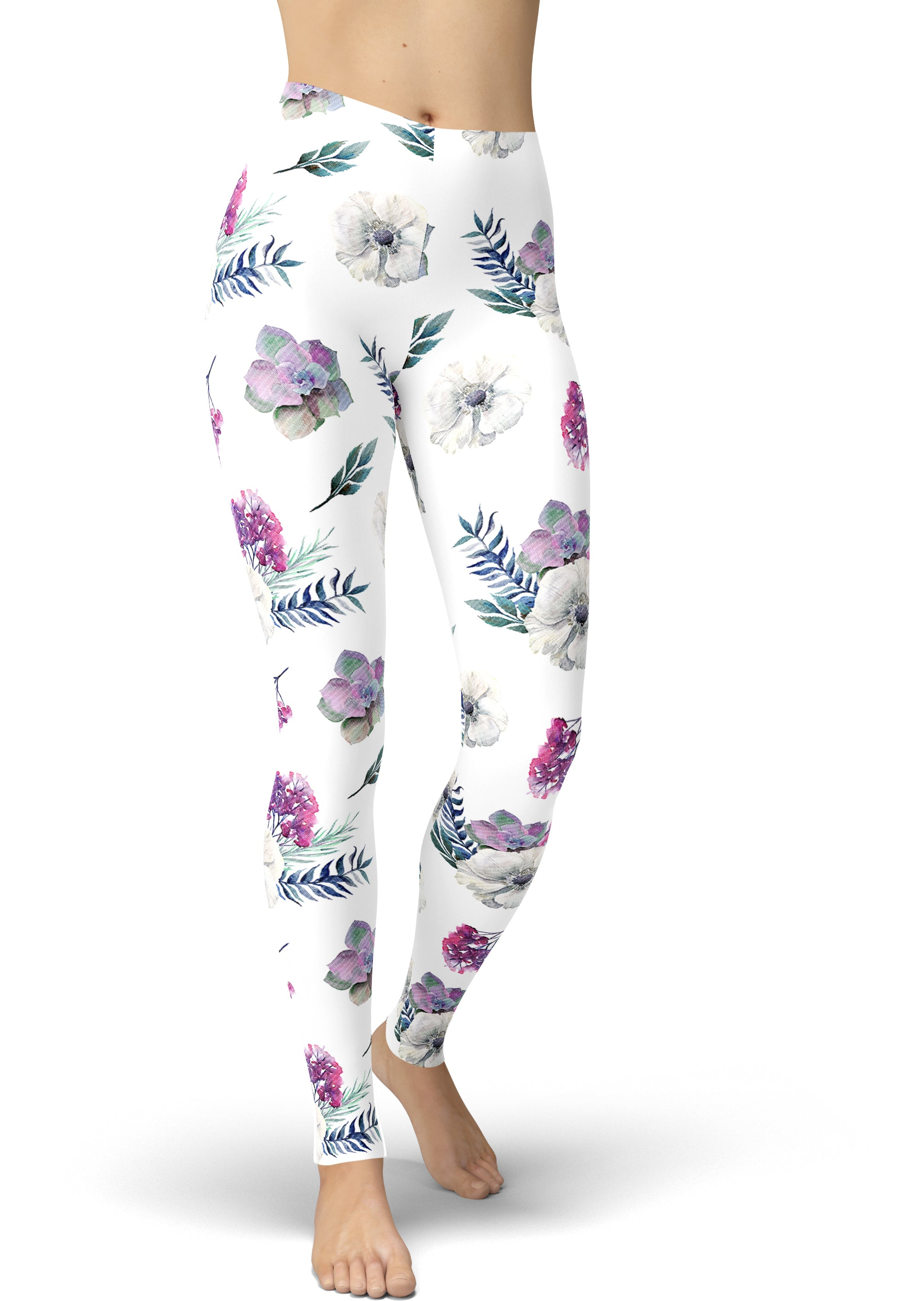 May Flower Leggings