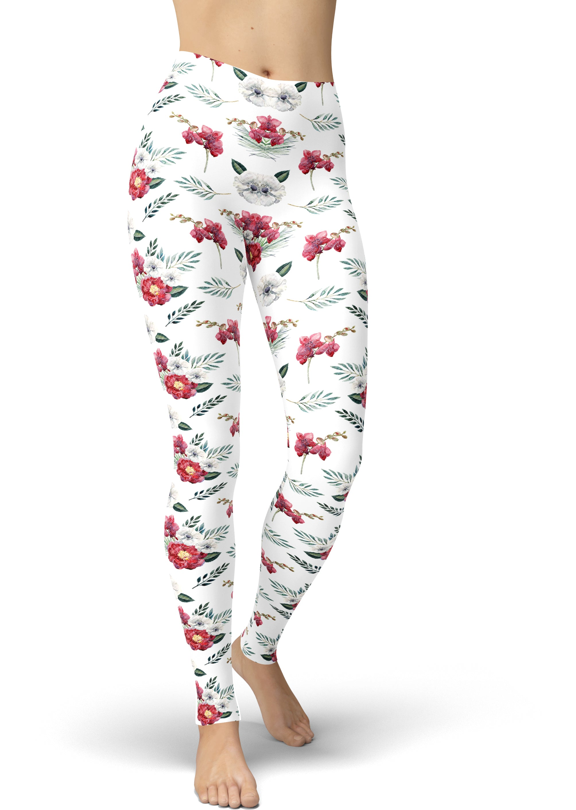 Coconut Punch Petals Leggings