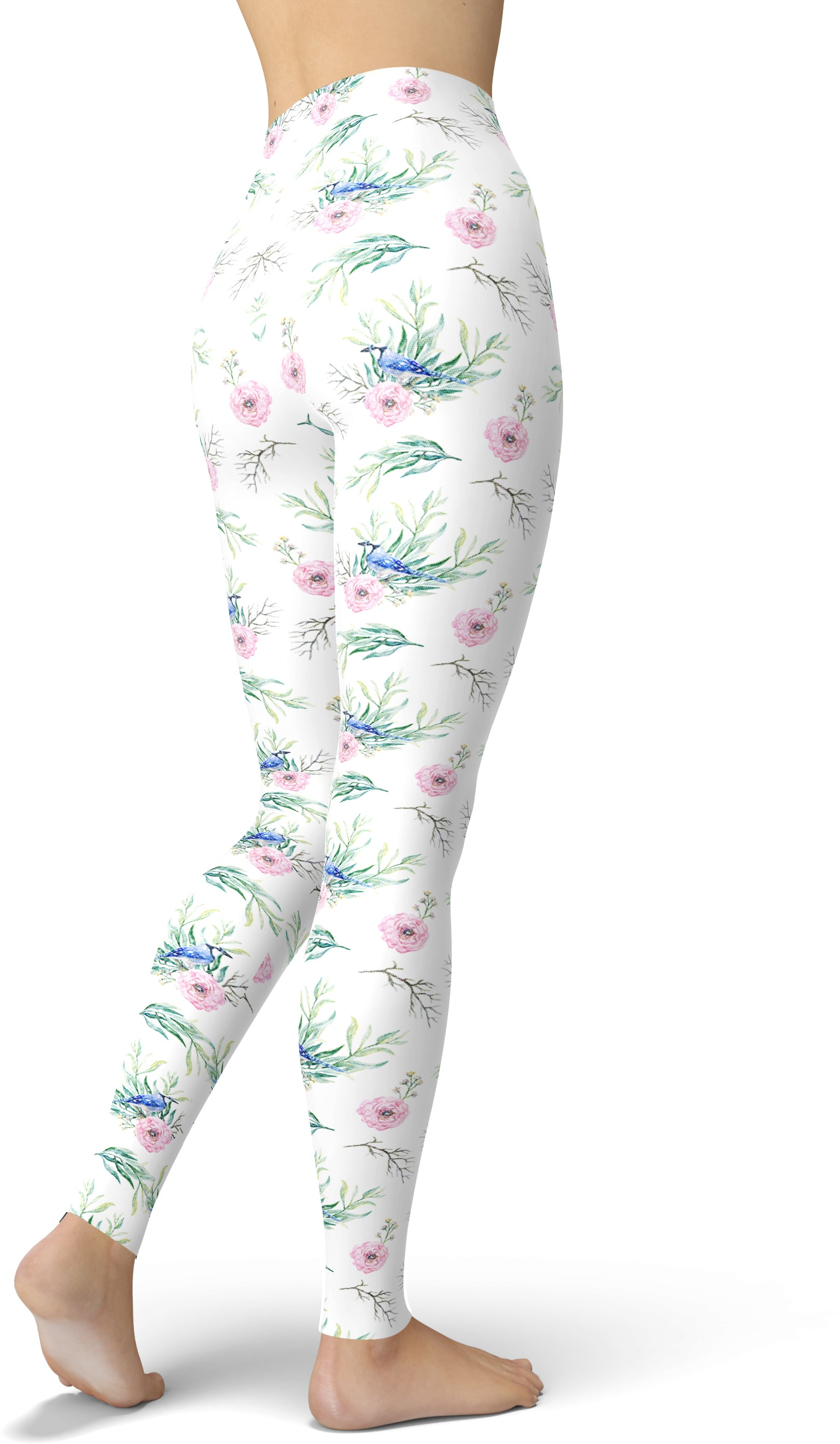 The Blue Bird Leggings