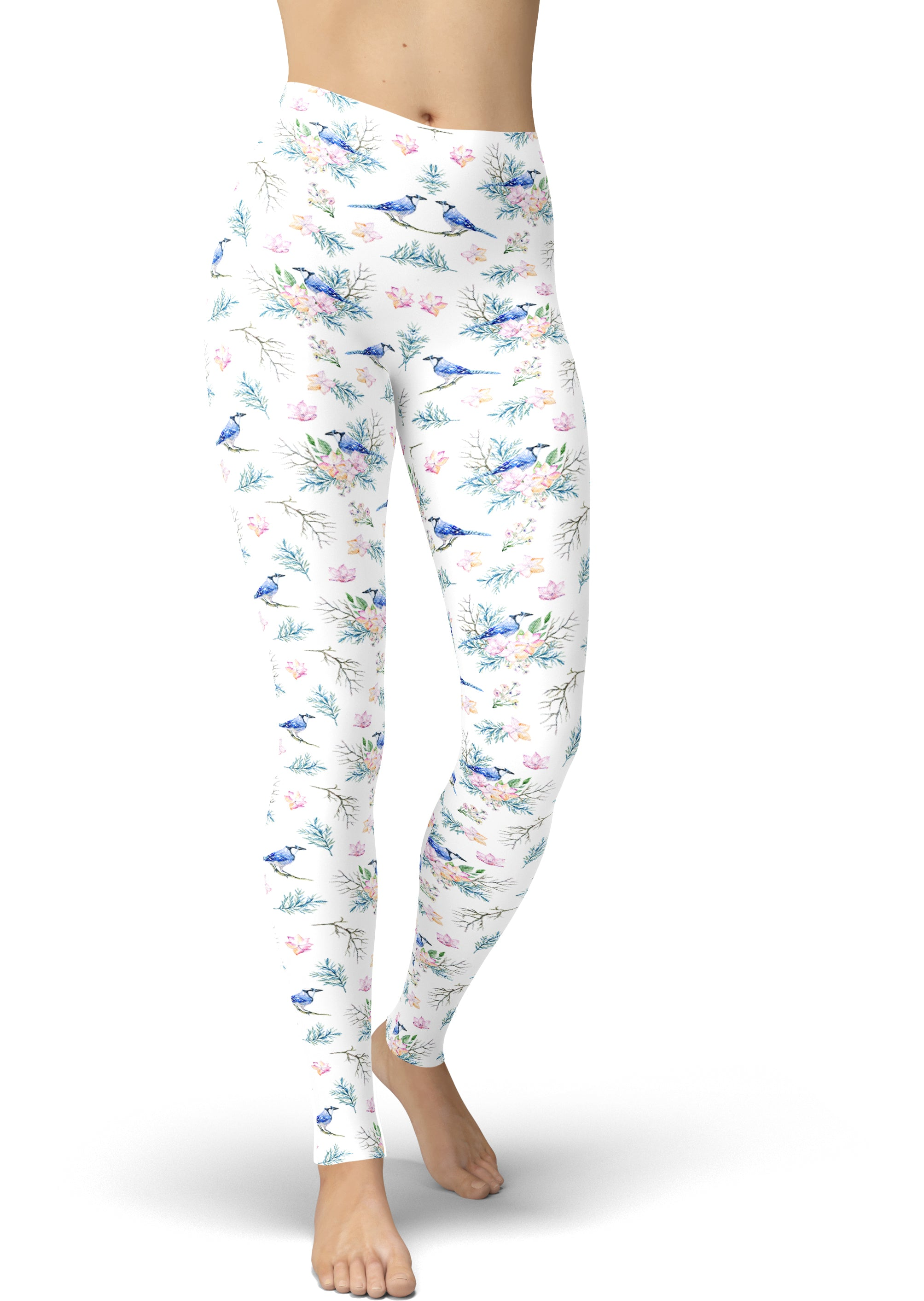 Sparrow Bouquet Leggings