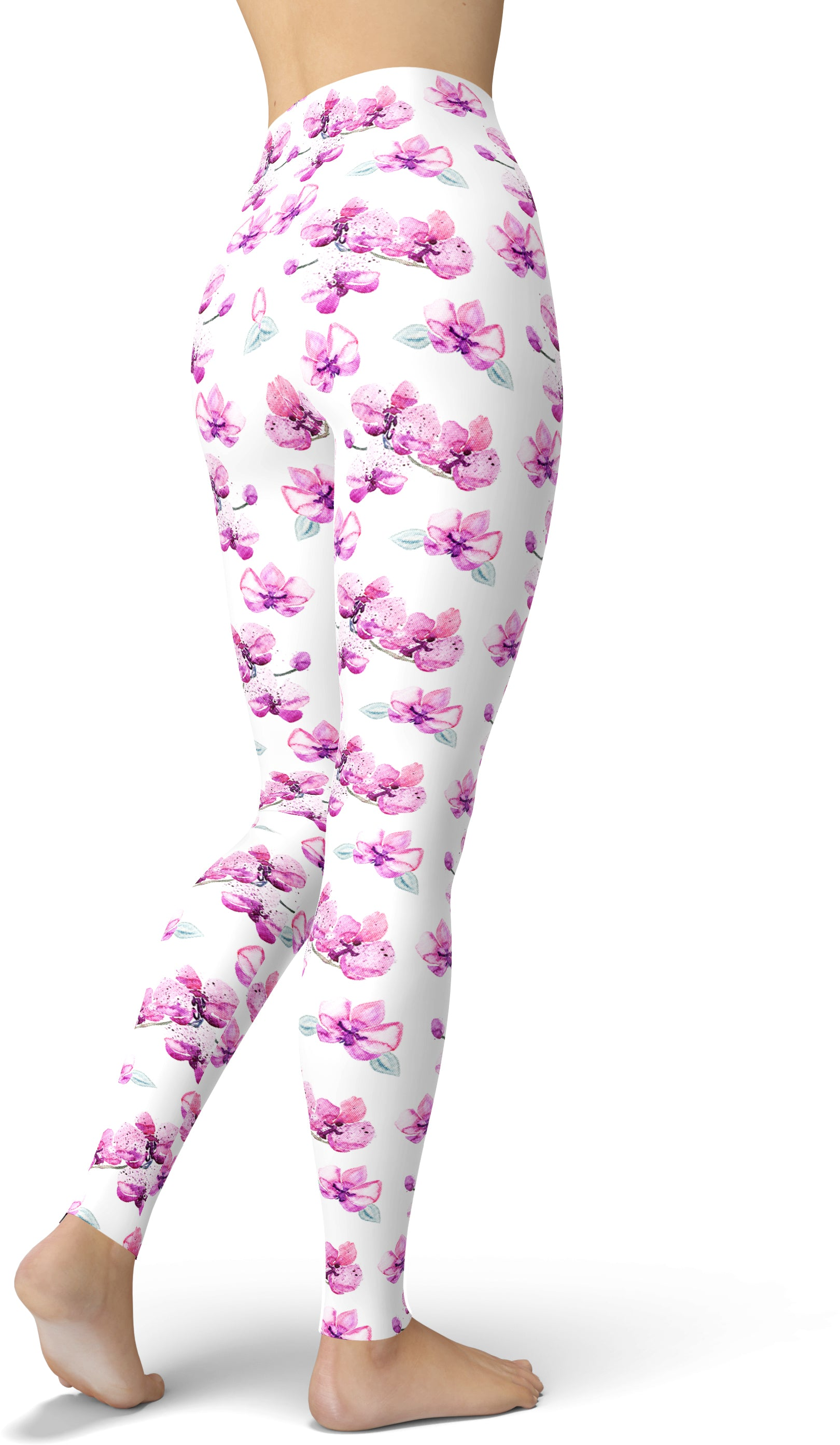 Orchids In The Spring Leggings
