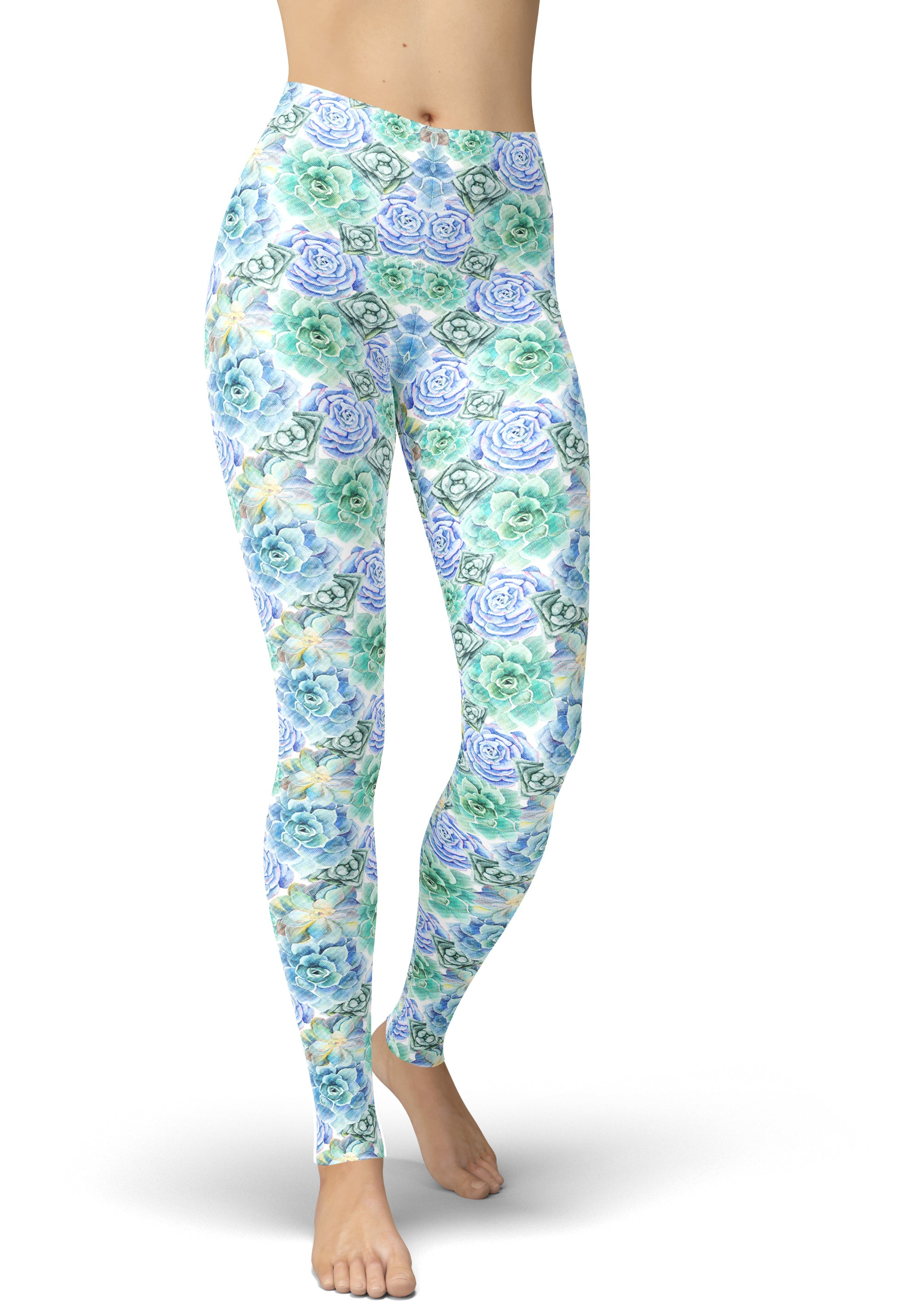 Succulent Sea Leggings