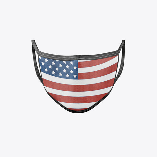 American Flag Face Mask 25-100 Bundle Packs