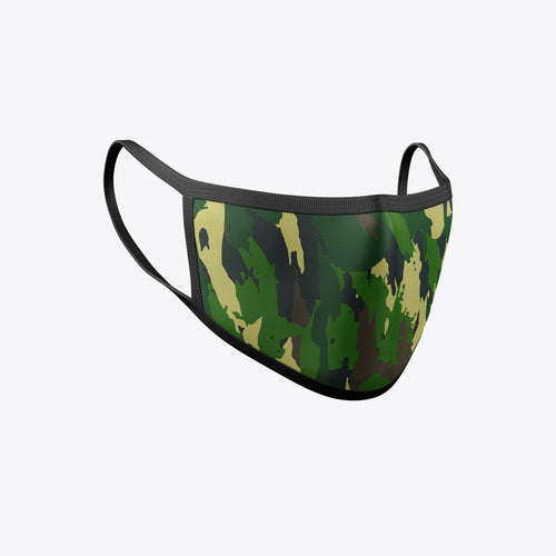 Camo 6 Face Masks