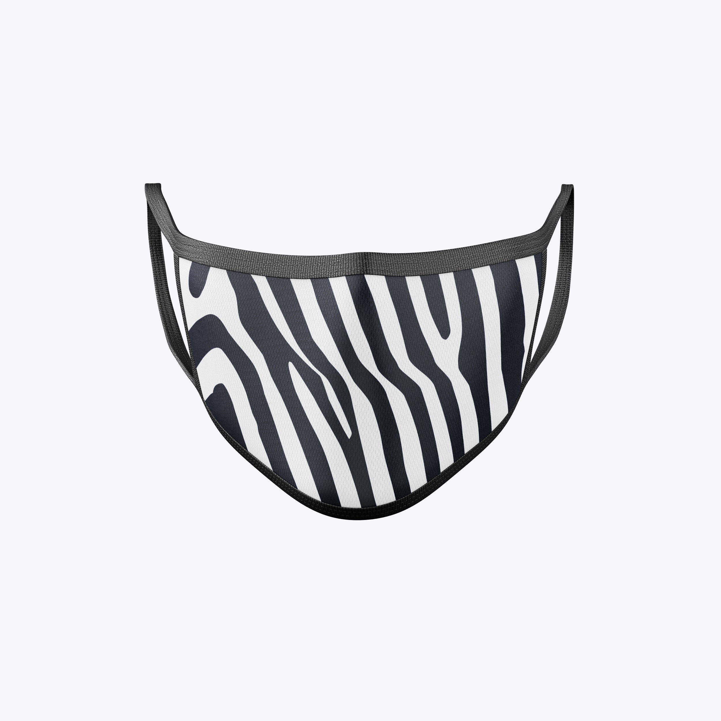 Zebra Face Masks