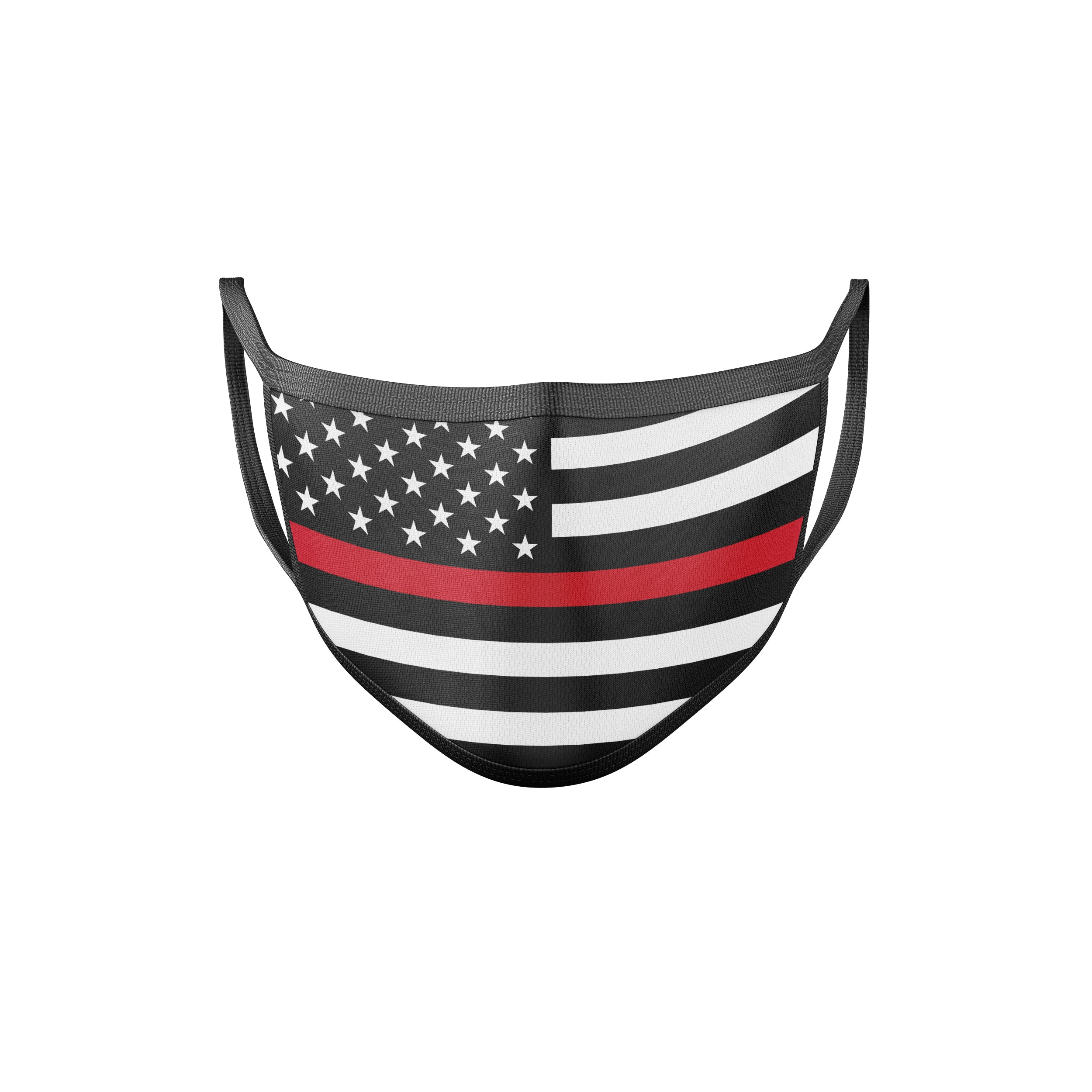 Patriotic Fire Department Face Mask