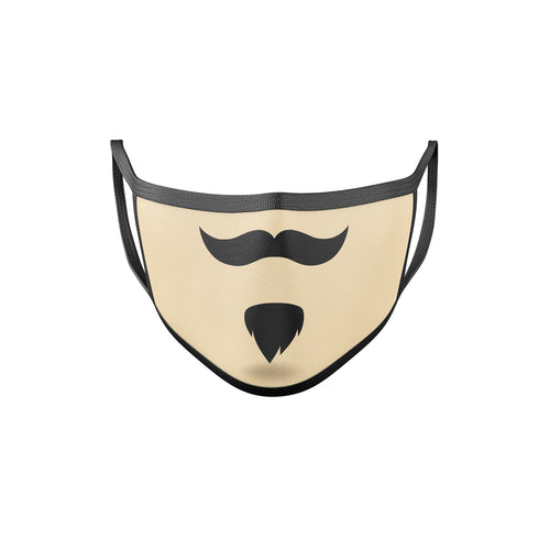 Funny Mustache Face Masks