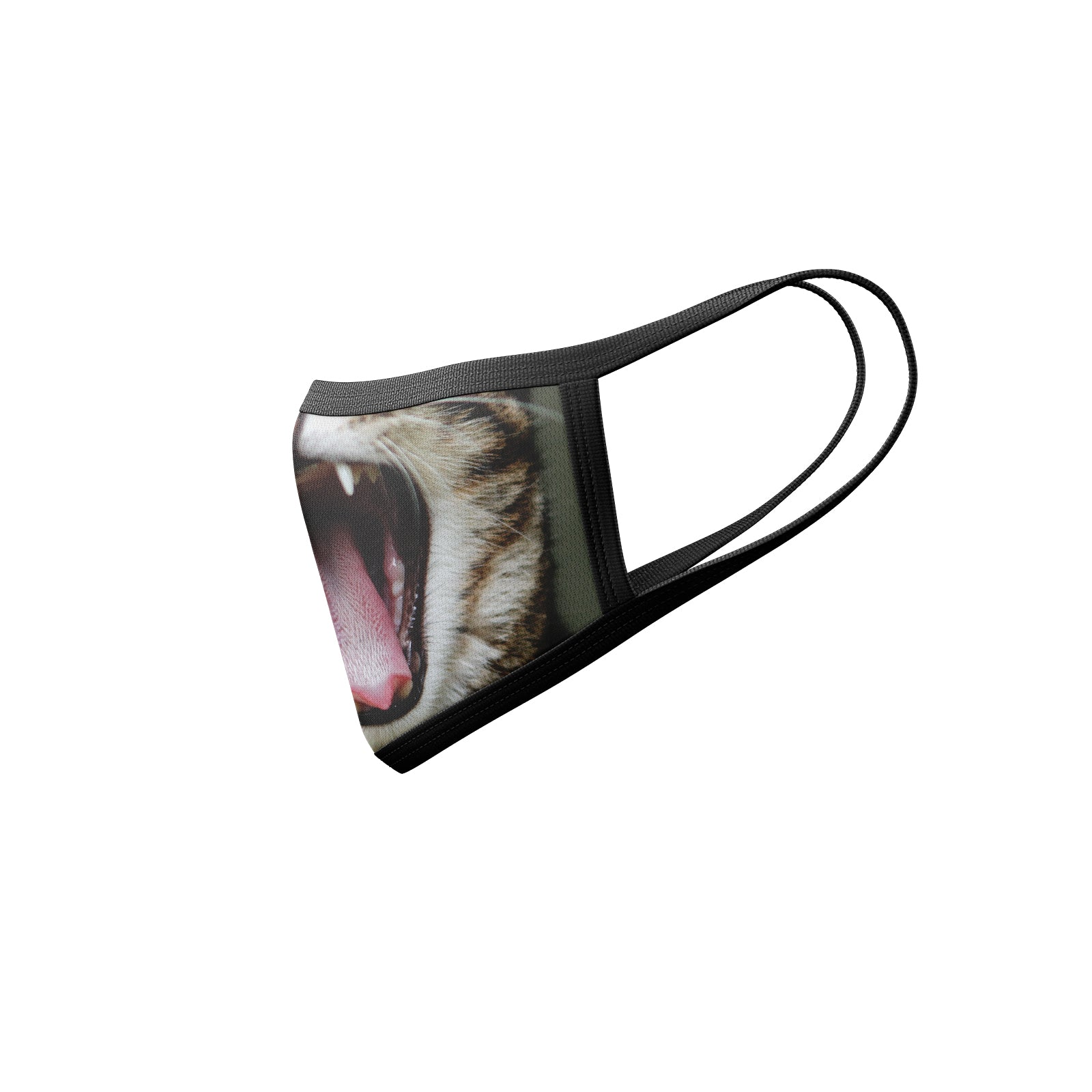 Cat Yawning Mask