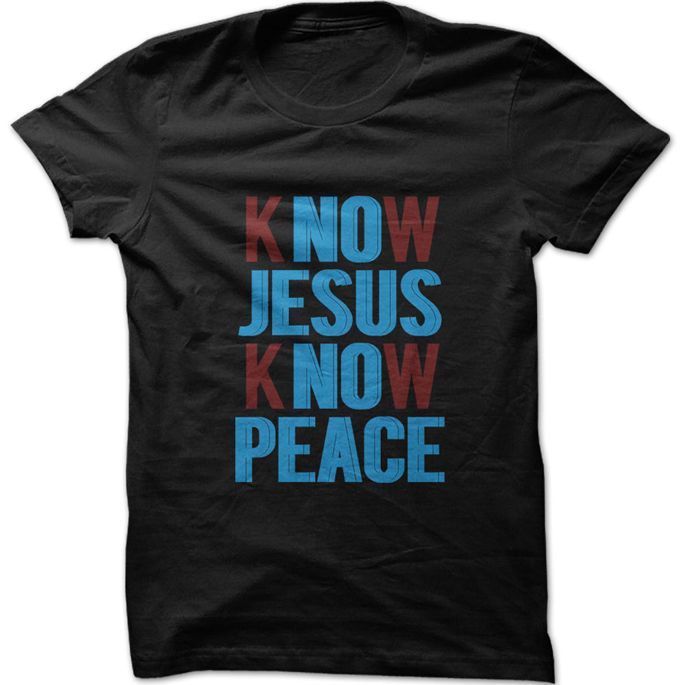 Men's Know Jesus Know Peace Graphic T-Shi