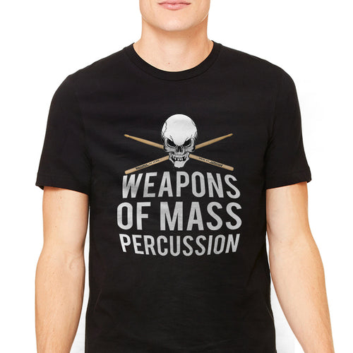 Men's Weapons of Mass Percussion Graphic T-Shirt