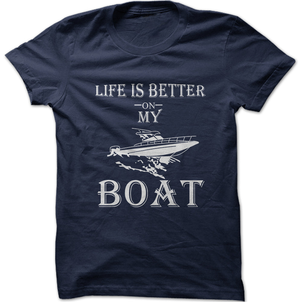 Men's Life Is Better On My Boat Graphic T-Shirt