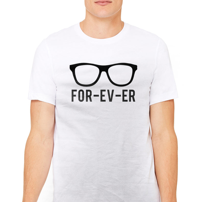 Men's Glasses for Ev-ER Graphic T-Shirt