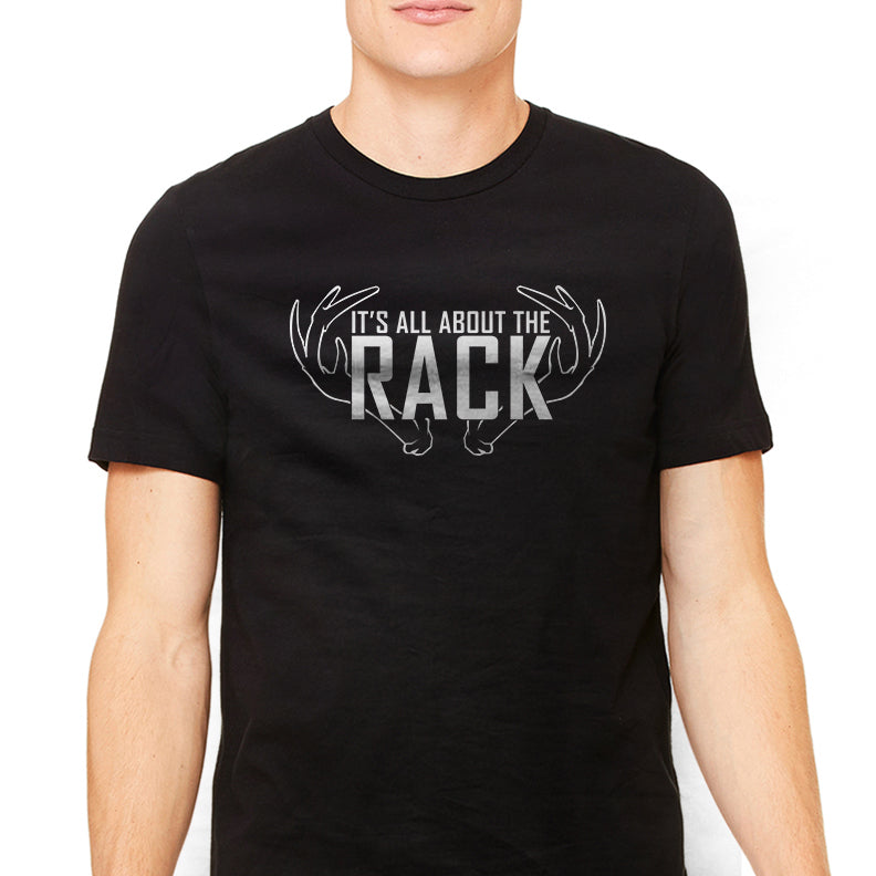 Men's It's All About The Rack Hunting Graphic T-Shirt