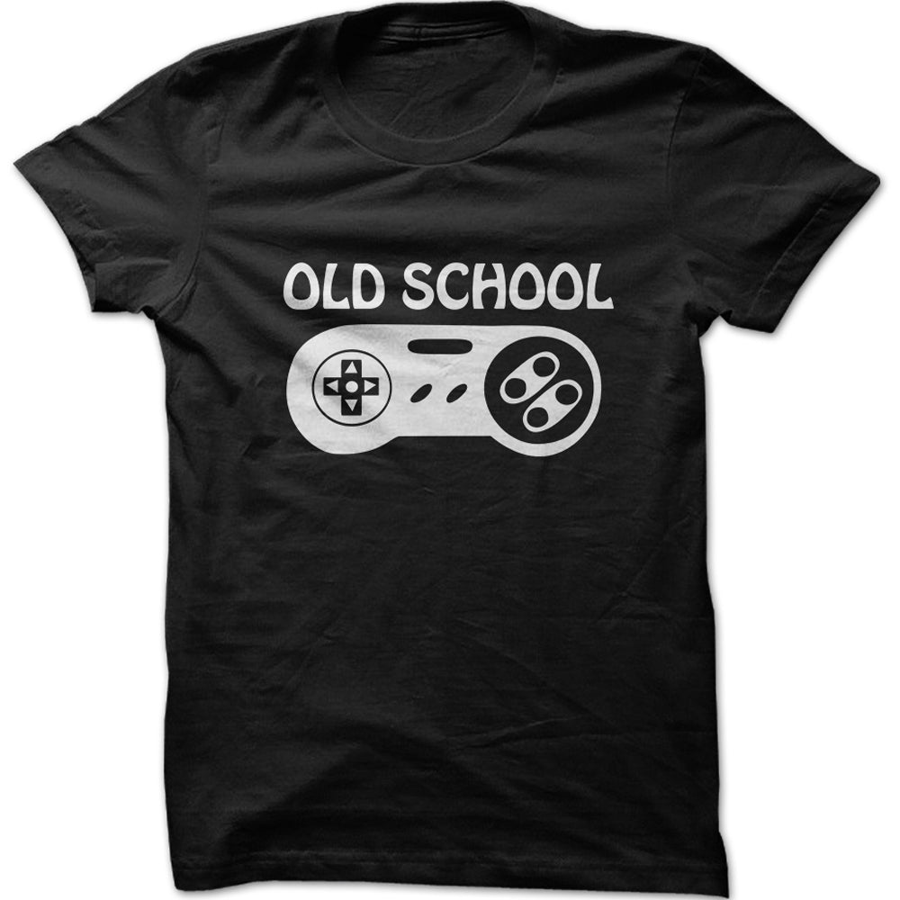 Men's Old School Gaming Graphic T-Shirt
