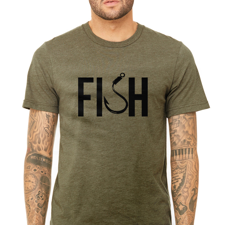 Men's Fish Graphic T-Shirt