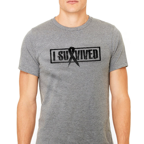 Men's Cancer Survivor I Survived Graphic T-Shirt