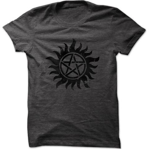 Men's Vitruvian Man Guitar Graphic T-Shirt