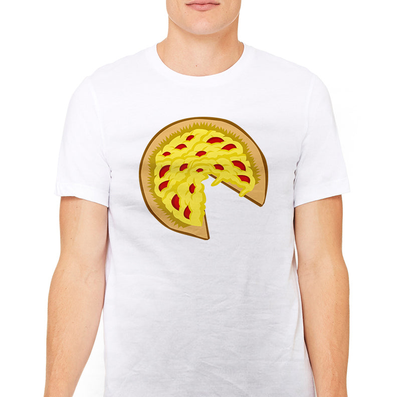 Men's Pizza Pie Graphic T-Shirt