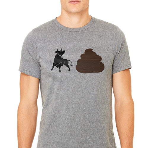Men's Bullshit Emoji Graphic T-Shirt