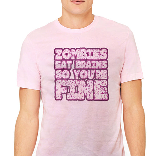 Men's Zombies Eat Brains Graphic T-Shirt